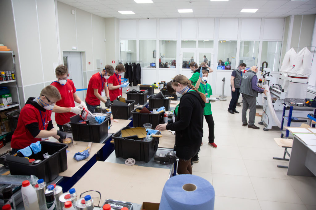 ZENIT– 47: принтеры ZENIT 3D на WorldSkills в Ленинградской области