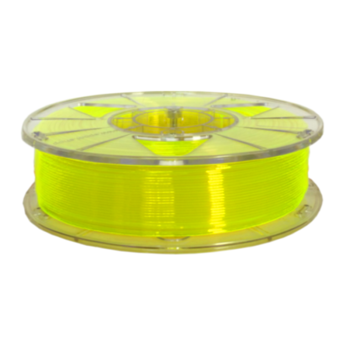 Пластик PLA ZENIT 1,75 мм 0,75 кг Желтый Неоновый