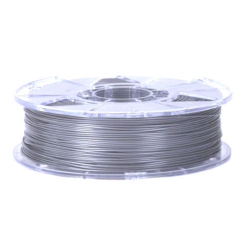 Пластик PLA ZENIT 1,75 мм 0,75 кг Серебристо-серый