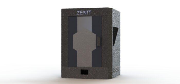 3д-принтер профессиональный  с большой областью печати  ZENIT 3D 300 (с функцией лазерного гравера)